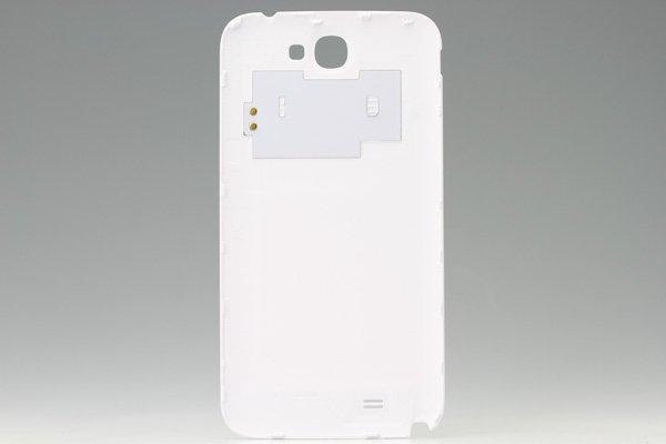 【ネコポス送料無料】SAMSUNG Galaxy Note2 (GT-N7100) バッテリーカバー ホワイト  [2]