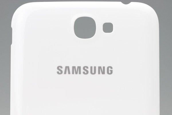 【ネコポス送料無料】SAMSUNG Galaxy Note2 (GT-N7100) バッテリーカバー ホワイト  [3]