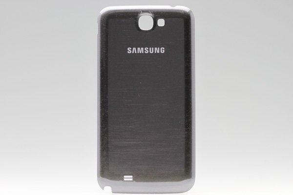 【ネコポス送料無料】SAMSUNG Galaxy Note2 (GT-N7100) バッテリーカバー グレー  [1]