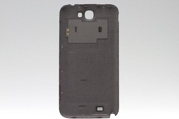 【ネコポス送料無料】SAMSUNG Galaxy Note2 (GT-N7100) バッテリーカバー グレー  [2]