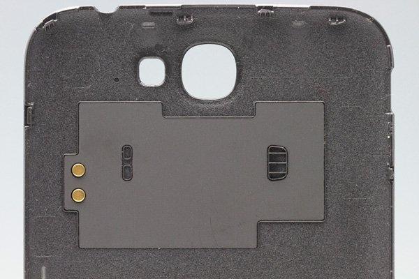 【ネコポス送料無料】SAMSUNG Galaxy Note2 (GT-N7100) バッテリーカバー グレー  [3]