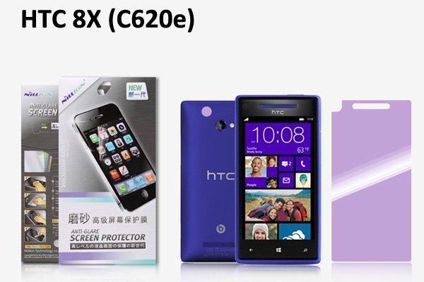 【ネコポス送料無料】HTC 8X (C620e)用 液晶保護フィルムセット アンチグレアタイプ  [1]
