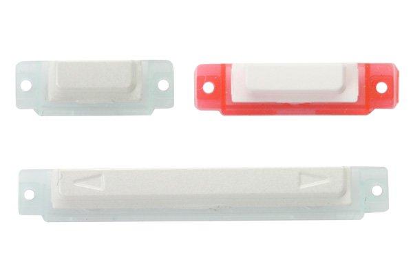【ネコポス送料無料】Xperia acro HD (LT26W SO-03D) サイドキーセット ホワイト  [1]