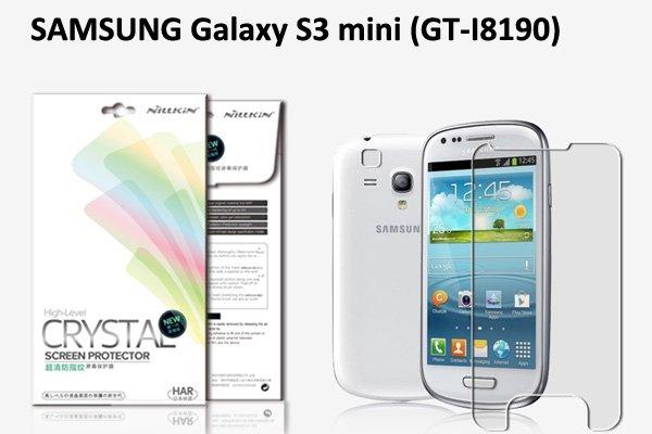 【ネコポス送料無料】SAMSUNG Galaxy S3 mini (GT-I8190)液晶保護フィルムセット クリスタルクリア  [1]