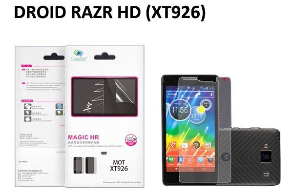 【ネコポス送料無料】 反射防止液晶保護フィルム DROID RAZR HD (XT926)  [1]