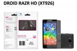 【ネコポス送料無料】 反射防止液晶保護フィルム DROID RAZR HD (XT926)