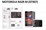 【ネコポス送料無料】 反射防止液晶保護フィルム DROID RAZR M (XT907)