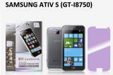 【ネコポス送料無料】 SAMSUNG Galaxy ATIV S (GT-I8750) 液晶保護フィルムセット アンチグレアタイプ