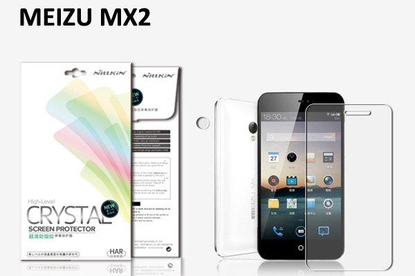 【ネコポス送料無料】MEIZU MX2 (魅族)用 液晶保護フィルムセット クリスタルクリアタイプ  [1]