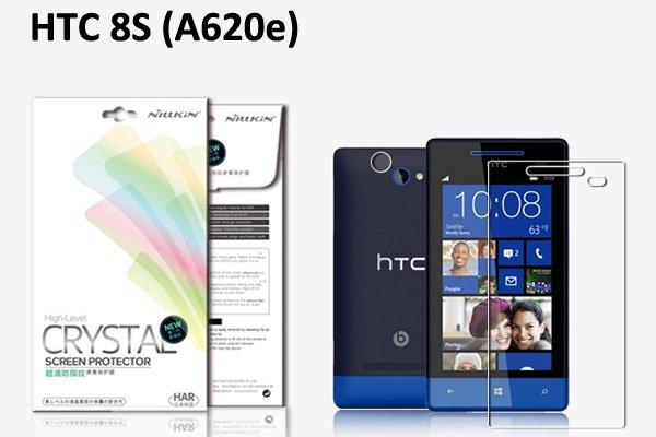 【ネコポス送料無料】HTC 8S (A620e)液晶保護フィルムセット クリスタルクリアタイプ  [1]