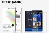 【ネコポス送料無料】HTC 8S (A620e)液晶保護フィルムセット クリスタルクリアタイプ