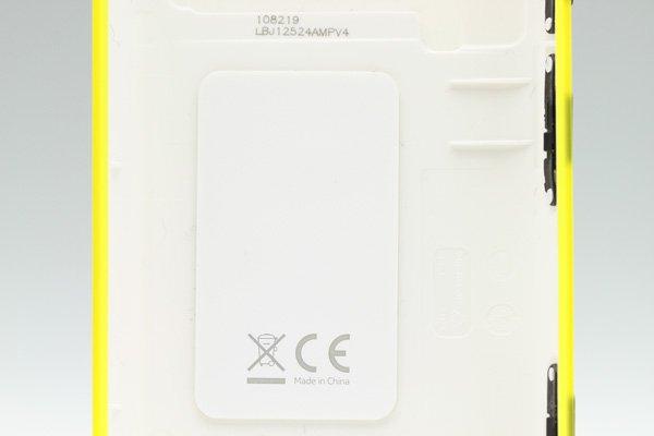 【ネコポス送料無料】NOKIA LUMIA 620 バックカバー 全8色  [4]