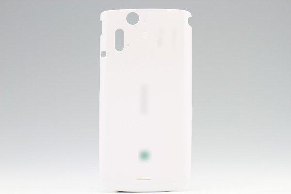 【ネコポス送料無料】Xperia acro IS11S バックカバー ホワイト  [1]