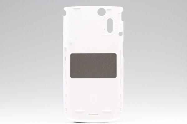 【ネコポス送料無料】Xperia acro IS11S バックカバー ホワイト  [2]