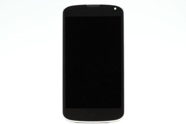 Google Nexus4 (LG E960) フロントパネルASSY  [1]