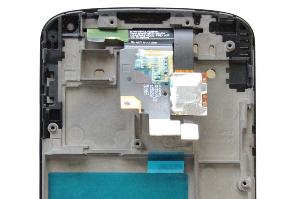 Google Nexus4 (LG E960) フロントパネルASSY  [3]