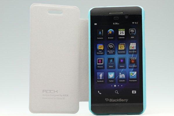 【ネコポス送料無料】Blackberry Z10 Rock 高品質PUケース 横開きタイプ 全3色  [2]