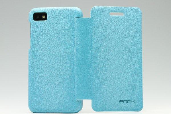 【ネコポス送料無料】Blackberry Z10 Rock 高品質PUケース 横開きタイプ 全3色  [3]