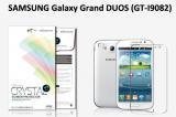 【ネコポス送料無料】 SAMSUNG Galaxy Grand Duos (GT-I9082) 液晶保護フィルムセット クリスタルクリア