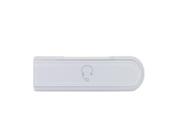 【ネコポス送料無料】 Xperia Z (C6603 SO-02E) キャップセット ホワイト  [3]