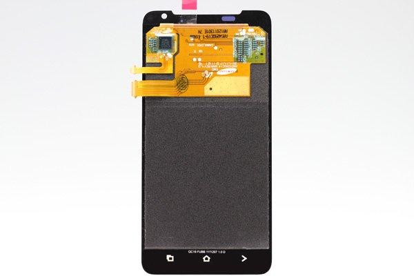 HTC J (Z321e) フロントパネル ホワイト  [2]