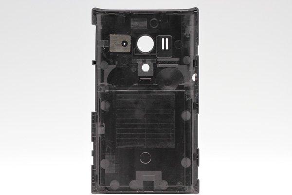 【ネコポス送料無料】Xperia acro HD SO-03D  背面カバー ブラック  [2]