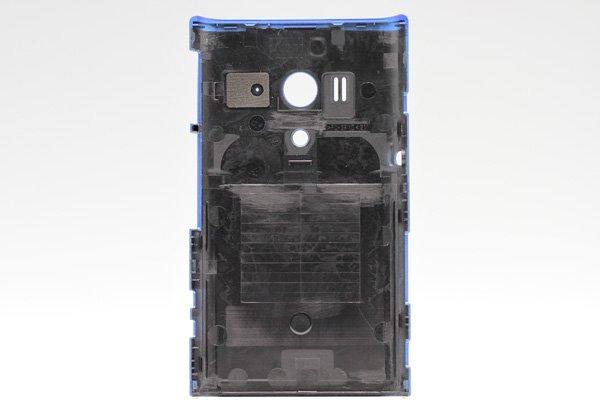 【ネコポス送料無料】Xperia acro HD SO-03D  背面カバー アクア  [2]