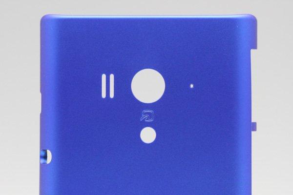 【ネコポス送料無料】Xperia acro HD SO-03D  背面カバー アクア  [3]