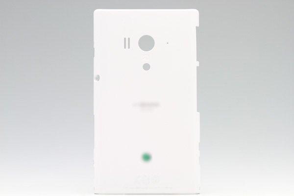 【ネコポス送料無料】Xperia acro HD SO-03D  背面カバー セラミック  [1]