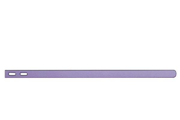 【ネコポス送料無料】 Xperia Z (C6603 SO-02E) サイドプレートセット パープル  [2]