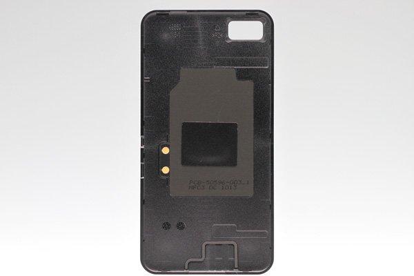 【ネコポス送料無料】Blackberry Z10 バッテリーカバー ブラック  [2]