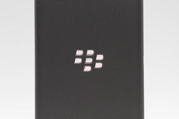 【ネコポス送料無料】Blackberry Z10 バッテリーカバー ブラック  [3]