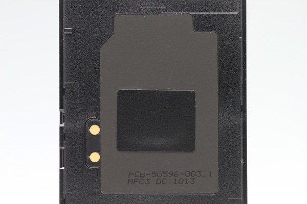 【ネコポス送料無料】Blackberry Z10 バッテリーカバー ブラック  [4]