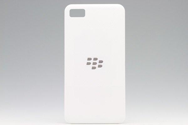 【ネコポス送料無料】Blackberry Z10 バッテリーカバー ホワイト  [1]