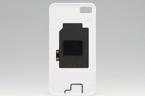 【ネコポス送料無料】Blackberry Z10 バッテリーカバー ホワイト  [2]