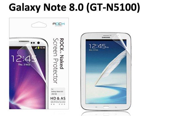 【ネコポス送料無料】SAMSUNG Galaxy Tab 8.0 (GT-N5100)Rock 液晶保護フィルム クリスタルクリアタイプ  [1]