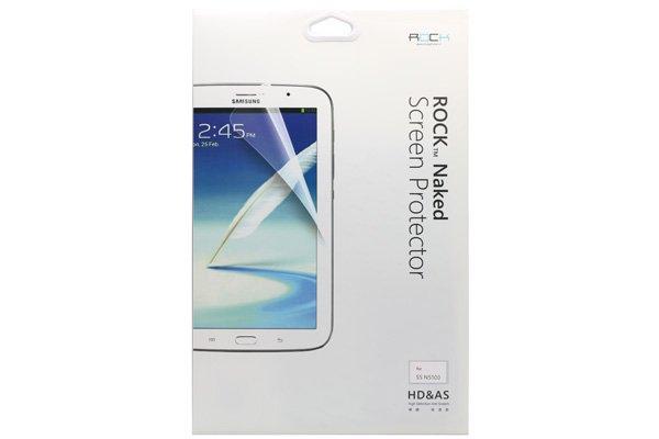 【ネコポス送料無料】SAMSUNG Galaxy Tab 8.0 (GT-N5100)Rock 液晶保護フィルム クリスタルクリアタイプ  [2]