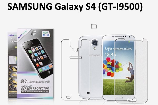 【ネコポス送料無料】 SAMSUNG Galaxy S4 (GT-I9500) 液晶保護フィルムセット アンチグレアタイプ  [1]