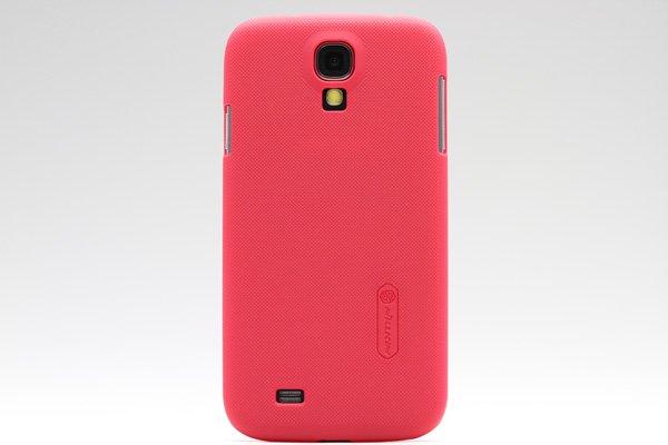 【ネコポス送料無料】SAMSUNG Galaxy S4 (GT-I9500) 専用ハードカバー 液晶保護フィルム付き 全4色  [1]