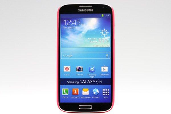 【ネコポス送料無料】SAMSUNG Galaxy S4 (GT-I9500) 専用ハードカバー 液晶保護フィルム付き 全4色  [2]