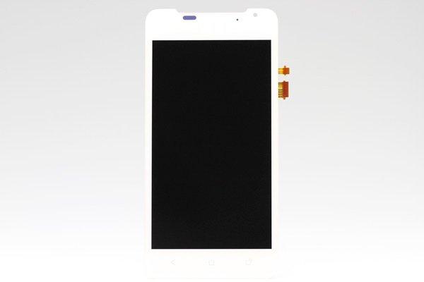 HTC J (ISW13HT) フロントパネル ホワイト  [1]