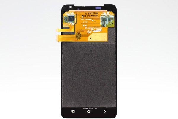 HTC J (ISW13HT) フロントパネル ホワイト  [2]