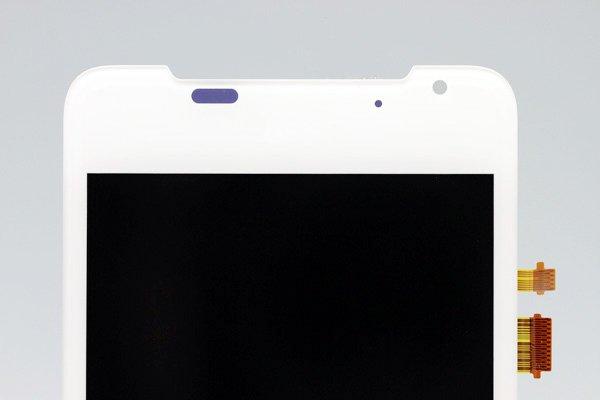 HTC J (ISW13HT) フロントパネル ホワイト  [3]