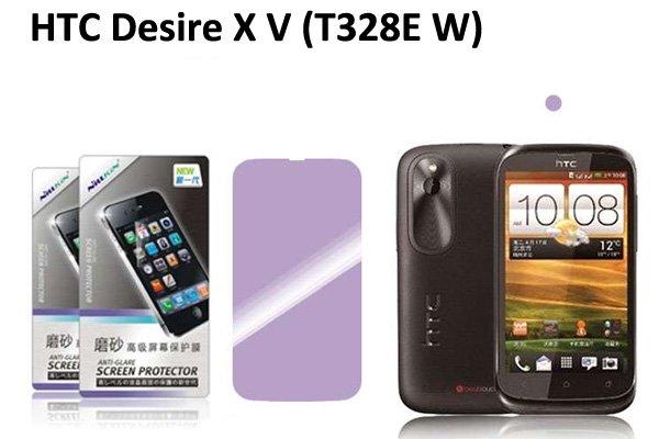 【ネコポス送料無料】 HTC Desire X V (T328E W) 液晶保護フィルムセット アンチグレアタイプ  [1]