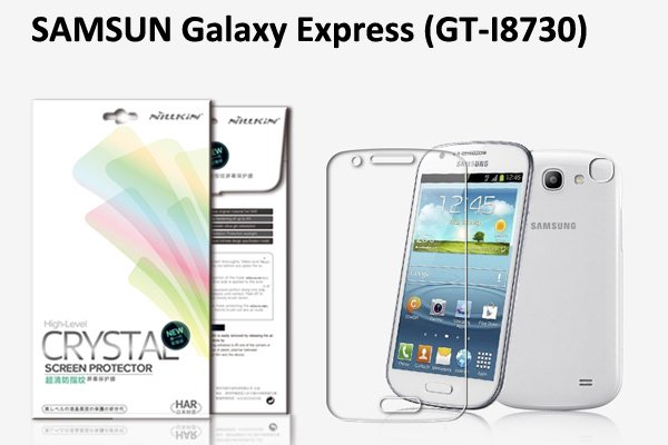 【ネコポス送料無料】 SAMSUNG Galaxy Express (GT-I8730) 液晶保護フィルムセット クリスタルクリア  [1]