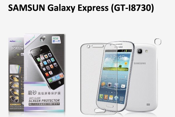 【ネコポス送料無料】 SAMSUNG Galaxy Express (GT-I8730) 液晶保護フィルムセット アンチグレアタイプ  [1]