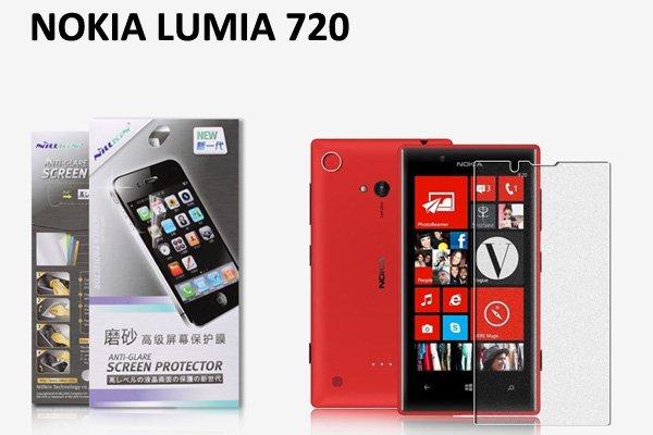 【ネコポス送料無料】 NOKIA LUMIA 720 液晶保護フィルムセット アンチグレアタイプ  [1]