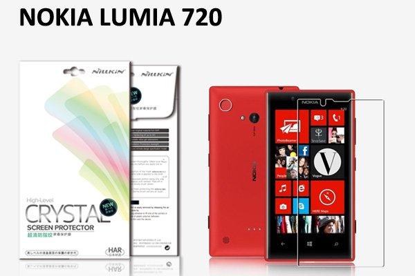 【ネコポス送料無料】 NOKIA LUMIA 720 液晶保護フィルムセット クリスタルクリアタイプ  [1]
