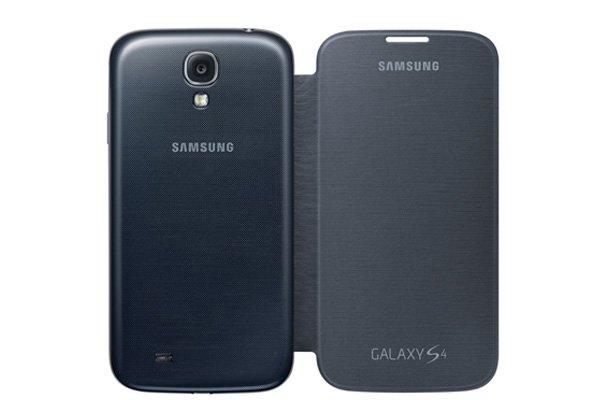 【ネコポス送料無料】SAMSUNG Galaxy S4 (GT-I9500)Flip Cover 全6色  [1]