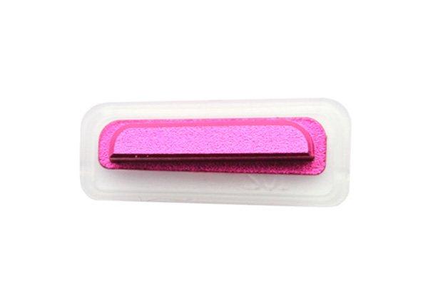 【ネコポス送料無料】 Xperia TX (LT29i SO-04D) サイドキー ピンク 3点セット  [2]
